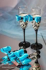 Wedding Gift Knife Set Damask Wedding Set Wedding Cake Server And Knife Champagne Flutes