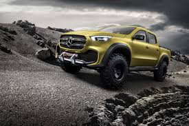 mercedes pickup truck 6x6 mercedes benz unveils its first pick up truck luxurylaunches