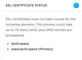 Sle Letter Certification No Pending Case Squarespace Help Squarespace And Ssl