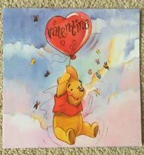 winnie the pooh valentines day winnie the pooh theme greeting card ebay