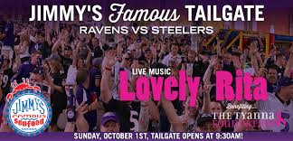 Ravens Steelers Memes - ravens vs steelers tailgate 10 1 jimmy s famous seafood