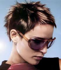 very short spikey hairstyles for women very short hair with bangs short hairstyles 2016 2017 most