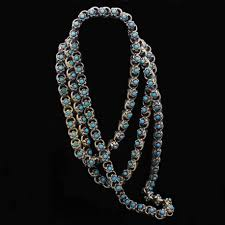 antique necklace chain images Antique victorian necklace sautoir muff chain gold turquoise jpg