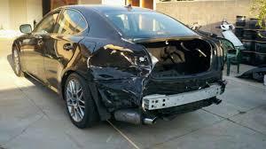 lexus black paint auto body repair van nuys auto body shop collision repair