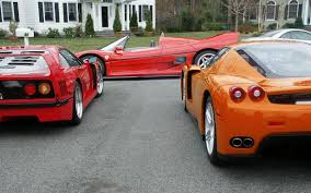 orange ferrari orange enzo big pic ferrari life