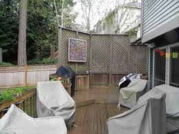 sammamish deck privacy screen before sublime garden design