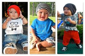 Trendy Infant Boy Clothes Baby Fashion Baby Boy 7 Months Old How To Style Beani