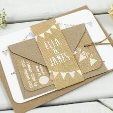 rustic pocket wedding invitations burlap wedding invitations u2013 frenchkitten net