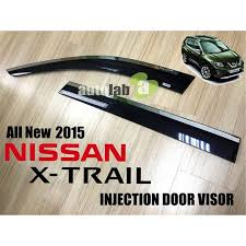 clip on visor light buy nissan x trial 2015 injection chrome lining elegant steel anti