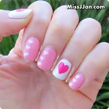 missjjan u0027s beauty blog sweetheart nails valentine u0027s day