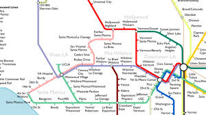 Chicago Elevated Train Map by The Most Optimistic Possible La Metro Rail Map Of 2040 Curbed La