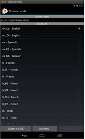 add language to android localization what is the list of supported languages locales on
