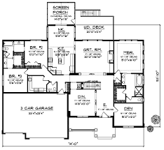 5 bedroom 1 story house plans luxury house plan 5 bedrooms 3 bath 4381 sq ft plan 7 678