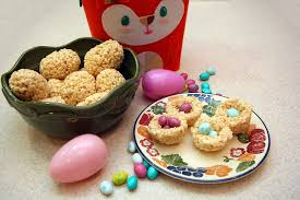 how to make rice krispies easter egg treats youtube