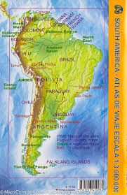 south america map atlas pocket travel atlas south america itm mapscompany