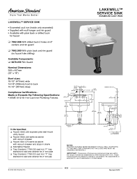 american standard kitchen faucet parts diagram lakewell service sink 7692 000 manuals users guides