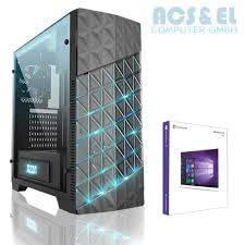 Computerm El Pc Computer Quad Amd Ryzen 1600 3 6ghz Ssd Usb3 0 8gb Gtx1050ti