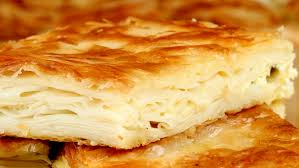 Patetesli ve peynirli börek çeşitleri