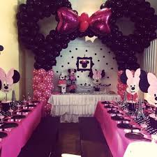 minnie mouse birthday decorations party decorations minnie mouse themed birthday party ideas