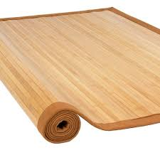 Area Rugs 5 X 8 Bamboo Area Rug 5 U0027 X 8 U0027 Large Sized Indoors Outdoors Mat