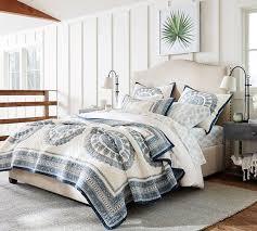 raleigh upholstered nailhead camelback tall bed u0026 headboard