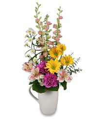 same day just because flowers perk me up bouquet just because flower shop network