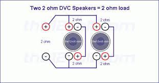 wiring diagram 2 2 ohm dvc subs to 1 ohm u2013 readingrat net