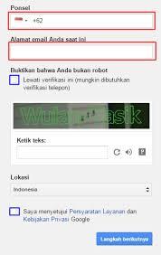 cara membuat akun gmail tanpa verifikasi nomor telepon 2015 cara membuat akun gmail tanpa verifikasi nomor hp wulan tasik