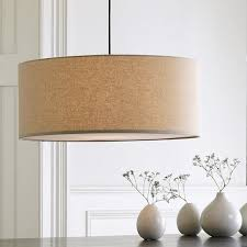 Pendant Light With Shade Confortable Drum Shade Pendant Light Unique Decor Ideas Intended