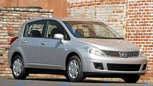 nissan tiida hatchback 2006 roomy little econo box gets mixed marks for reliability the