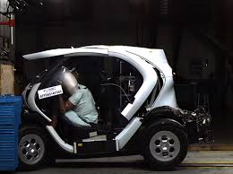 renault twizy renault twizy leads euro ncap quadricycle crash tests still