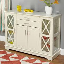White Sideboard With Glass Doors Category