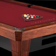 8 u0027 invitational w teflon billiard felt pool table felt pool