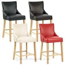 tabouret chaise de bar tabouret de bar cuir bois a plan travail socialfuzz me