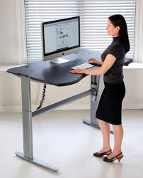 wood adjustable standing desk innovative adjustable standing