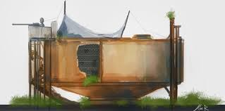 rust building concept by aleltg on deviantart