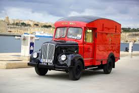 what a beauty a 1956 vintage royal mail delivery van is donated