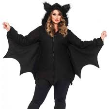 cozy bat fleece womens halloween costume