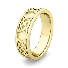 comfort fit ring custom comfort fit celtic wedding band ring for men and women