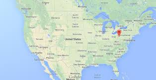 map of usa where is pittsburgh on map of usa easy guides