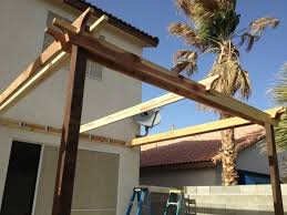 Attached Pergola Plans by How To Build A Pergola Off The House Pergola Gazebo Ideas