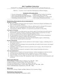 examples of resumes careertraining hard copy resume to sample