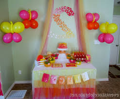 1st Birthday Party Decorations Homemade Gorgeous 1st Birthday Party Decoration Ideas Given Efficient