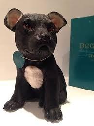 staffordshire bull terrier staffy puppy ornament figurine