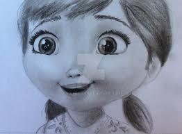 young anna pencil drawing minerida deviantart