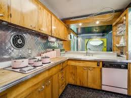 Keen Antique Oak Kitchen Cabinet Peachy Keen 1950s Style Home Listed For 665k In Dallas Abc News