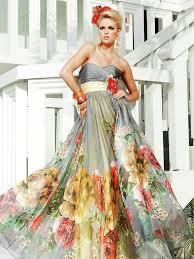 multi color wedding dress 49 best color wedding dresses images on