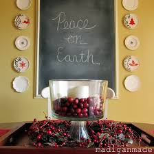 Chalkboard Home Decor by 25 Simple Christmas Crafts And Décor Ideas Rosyscription