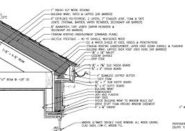 Wrap On Roof And Gutter Cable by Gutter Roof Overhang U0026 Timber Roof Overhang Fascia Detail With