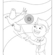 coloring pages of independence day of india independence day printable coloring pages sheets festivals trend